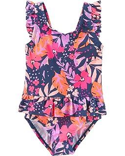 fa24802107 Amazon.com: OshKosh B'Gosh Girls' One-Piece Swimsuit: Clothing