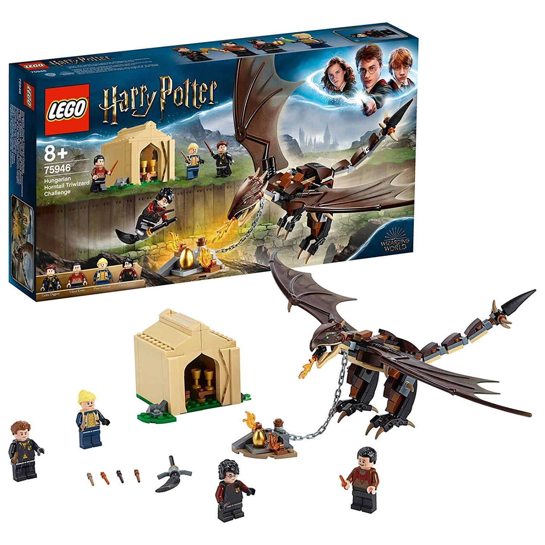 レゴ(LEGO) ハリーポッター ハンガリーホーンテイルの3大魔法のチャレンジ 75946