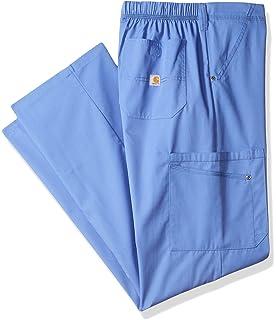 319f2f7e267 Carhartt Mens Rockwall Men's Cargo Scrub Pant Tall Medical Scrubs Pants