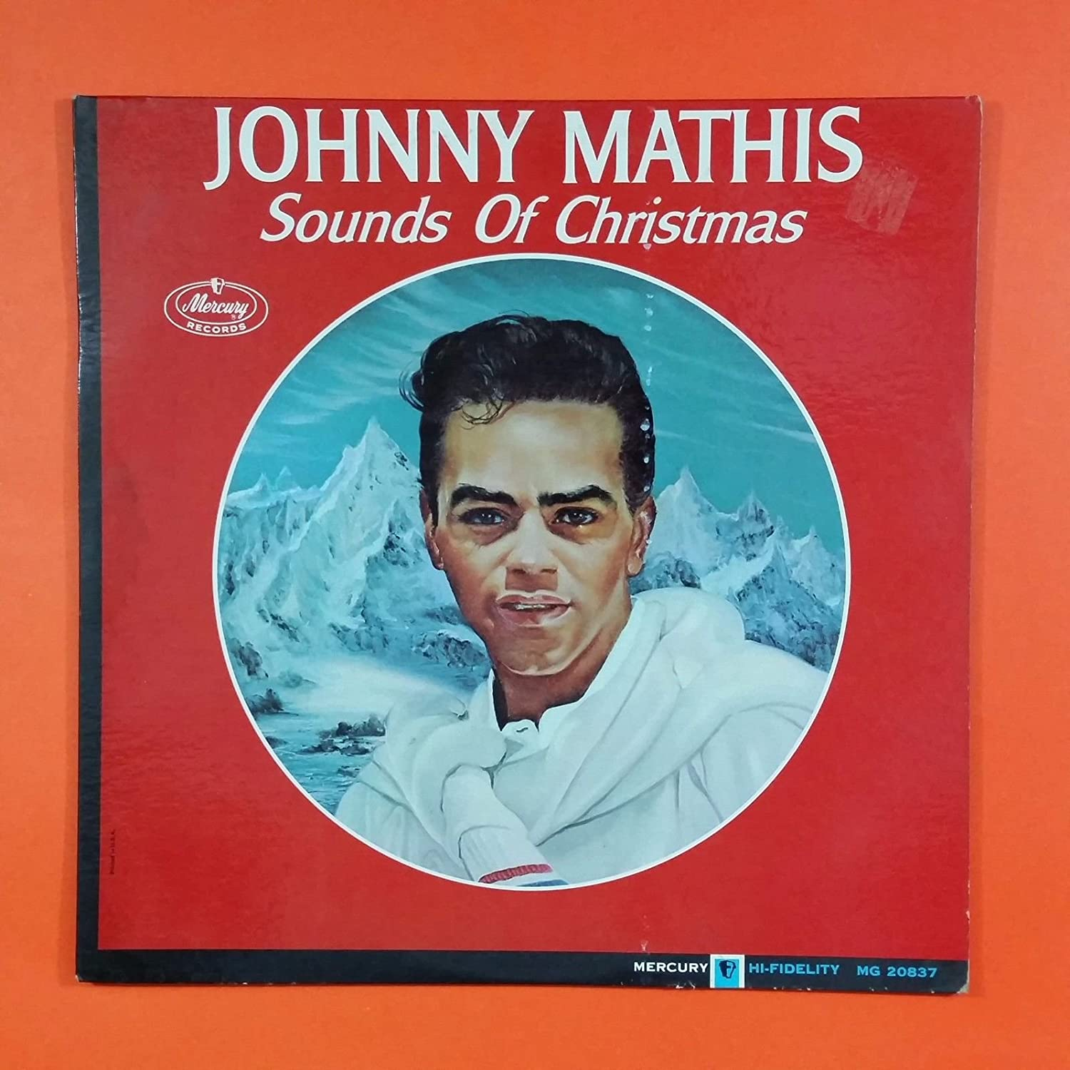 JOHNNY MATHIS Sound Of Christmas MG 20837 LP Vinyl VG Cover VG+ ...