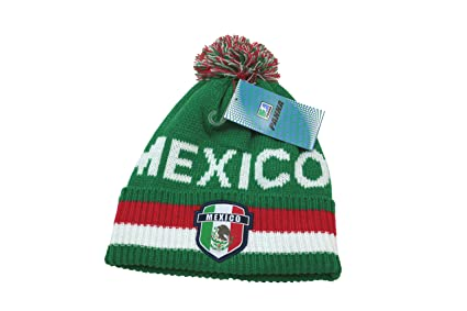 Amazon.com   Mexico Soccer Team Logo Beanie - 002   Sports   Outdoors 3b3468ca7