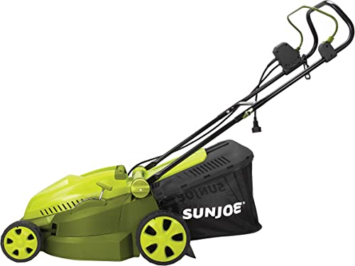 MJ402E Mow Joe 16-Inch 12-Amp Electric Lawn Mower Mulcher
