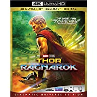 Thor: Ragnarok 4K UHD + Blu-Ray + Digital HD