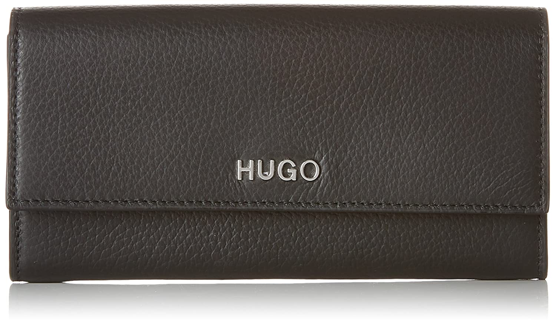 HUGO - Mayfair Continental, Carteras Mujer, Negro (Black), 1.5x10x19 cm (B x H T)