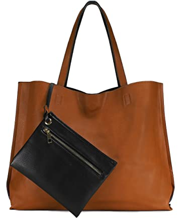 fe1705ac2df3 Scarleton Stylish Reversible Tote Handbags Shoulder Bags Hobo bags Satchel  Purses Top Handle Bag for Women