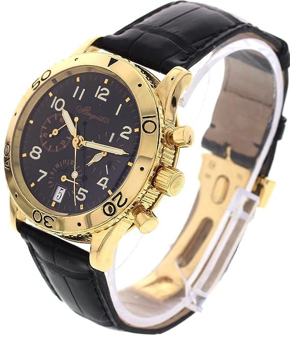 Breguet Transatlantique Swiss Reloj Automático Negro 3820 para Hombres: Amazon.es: Relojes