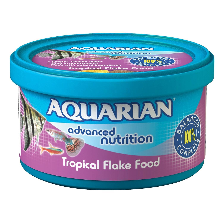 (13 Grams, 1) Aquarian Tropical Flake Fish Food 13 g