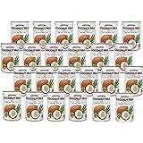 有機JAS認定 オーガニックココナッツミルク 400ml 缶 無添加/無着色/無保存剤/BPAフリー ココナツミルク (24缶(グァガム入り))