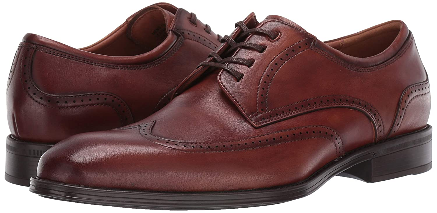 Florsheim Mens Allis Comfortech Wingtip Oxford Dress Shoe