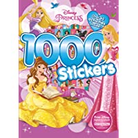 1000 Stickers: Disney Princess