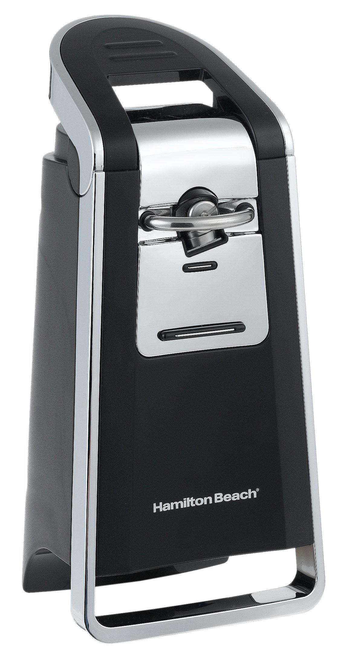 Hamilton Beach 76606Z Smooth Touch Can Opener, Black and Chrome (Discontinued) by Hamilton Beach