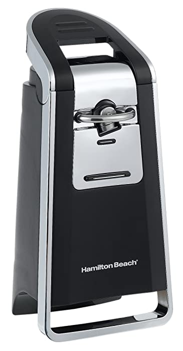 Hamilton Beach 76606Z Smooth Touch Can Opener, Black and Chrome (Discontinued)