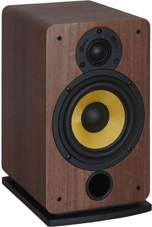 Davis Acoustics Eva - Altavoces de estantería (2 vías, 100 W), color marrón