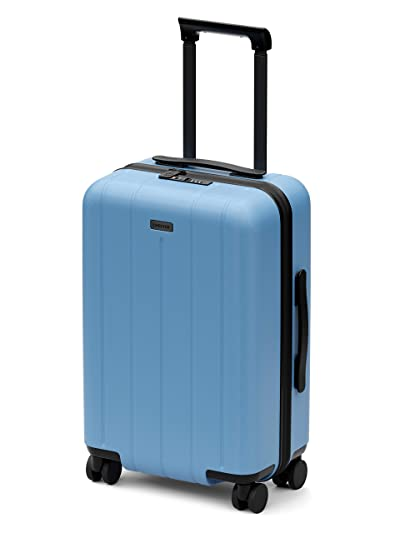 """CHESTER Minima Carry-On Luggage / 22""""x19""""x14"""" Lightweight Polycarbonate Hardshell/Spinner Suitcase/TSA Approved Cabin Size"""
