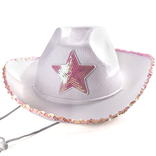 Amazon.com  Funny Party Hats Cowgirl Hat - Princess Cowboy Hats for ... eb73b4406928