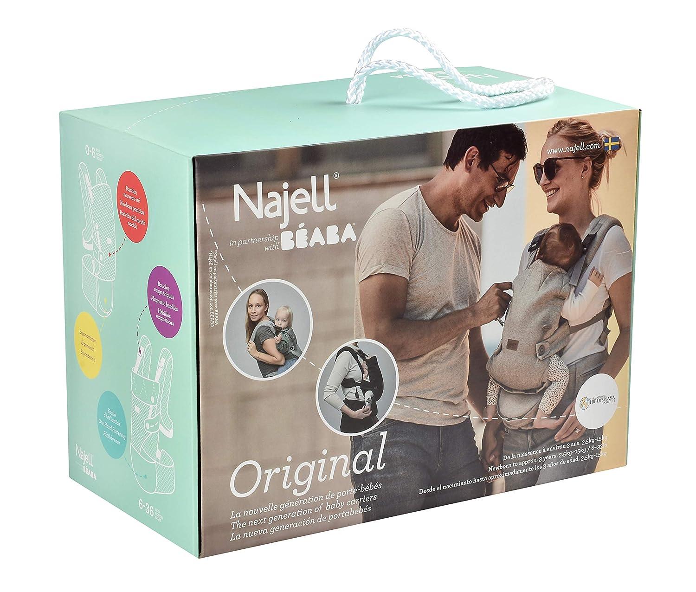 Najell Babytrage Original brilliant schwarz