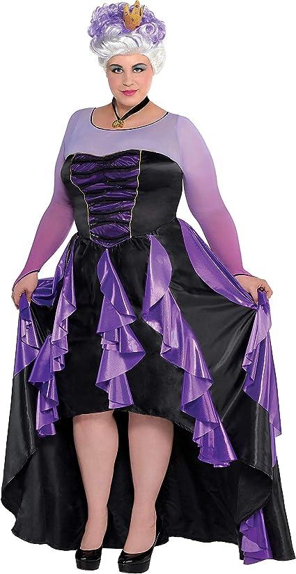 SUIT YOURSELF Disfraz de Sirenita para Mujer, Talla Grande ...
