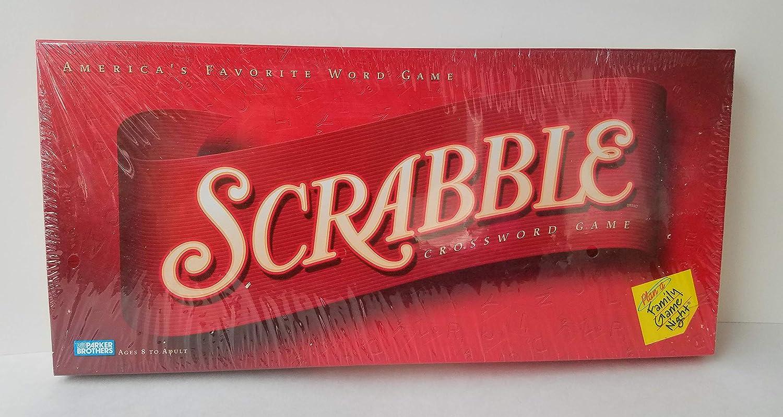 Scrabble Crossword Game: America's Favorite Word Game (2001 Edition)
