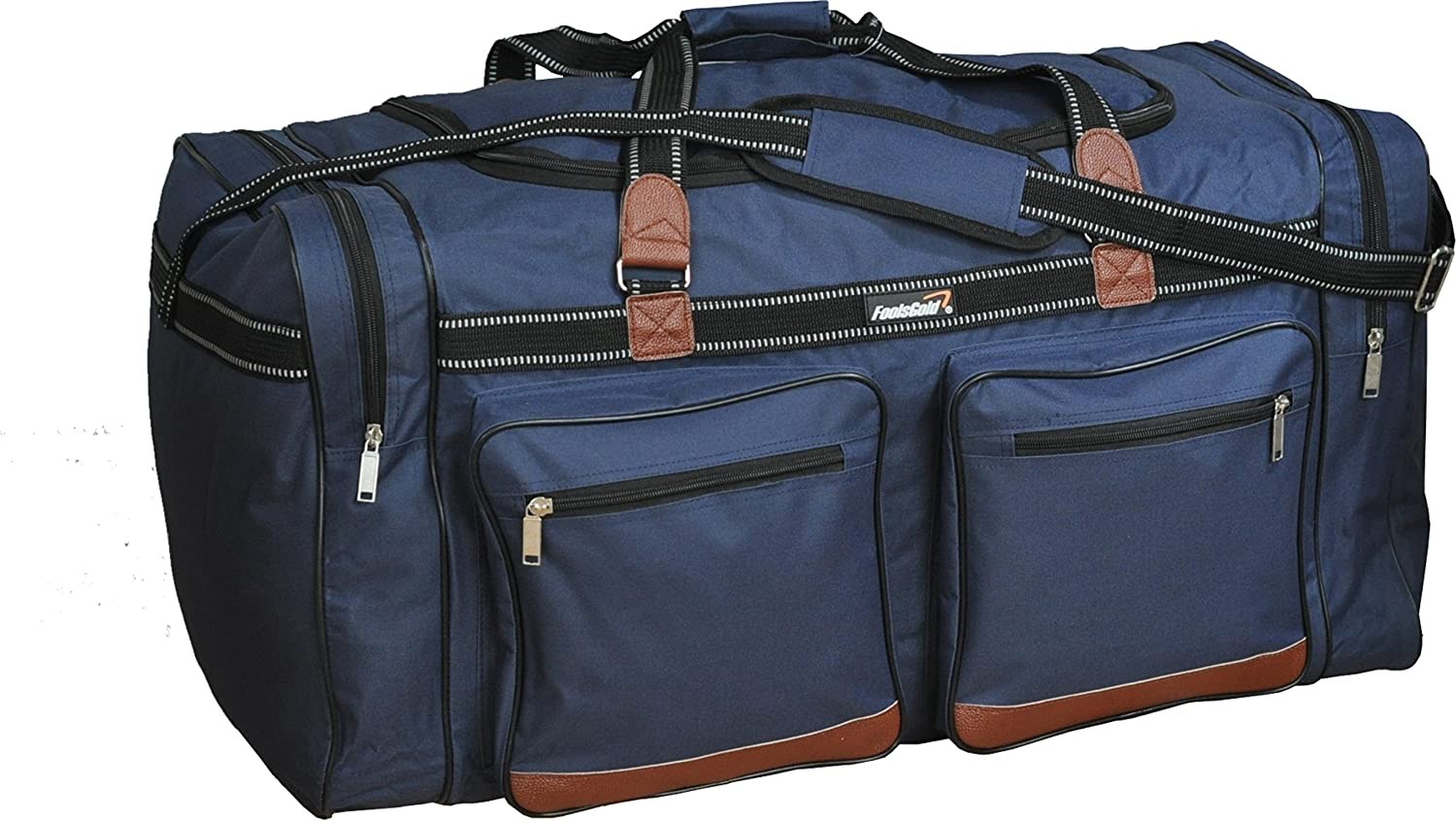 foolsGold Extra Large 120L Holdall Travel Duffle Bag in Black