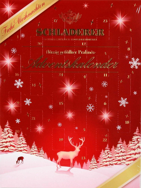 Schladerer Pralinés Adventskalender, 1er Pack (1 x 255 g): Amazon.de ...