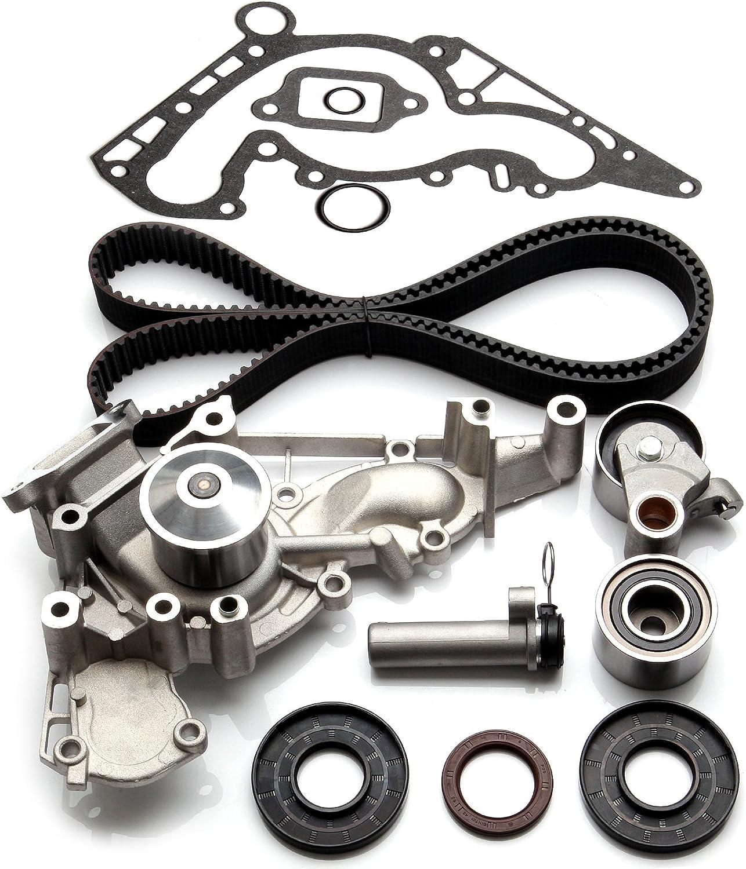 Amazon Com Scitoo Tbk298wpt Timing Belt Kit Water Pump Fits 98 09 Lexus Toyota Tundra 4runner Sequoia 4 7l 2uzfe Automotive