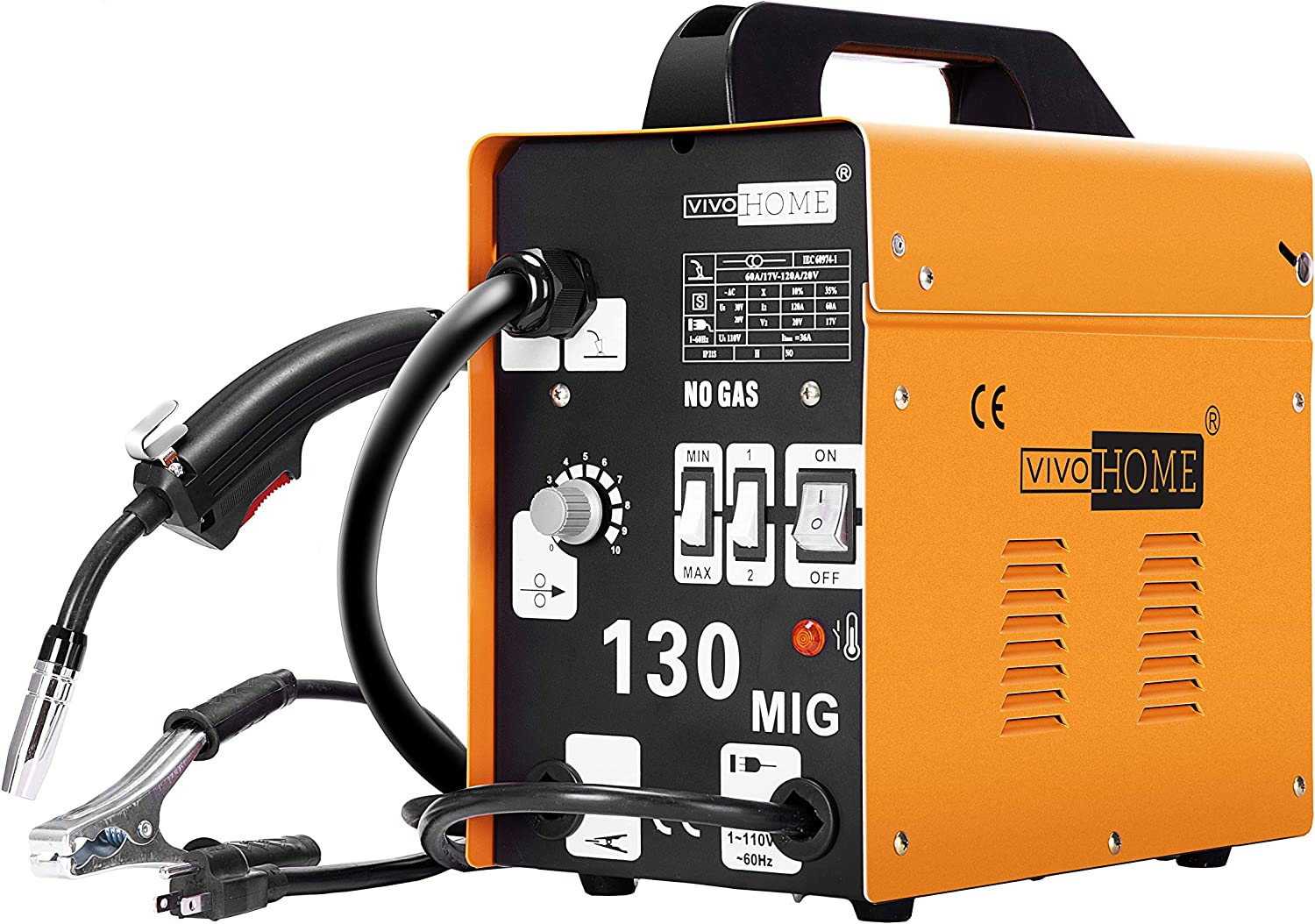 Best 110v Mig Welder (MIG, TIG, Stick) - Our 5 Reviews for 2020 3