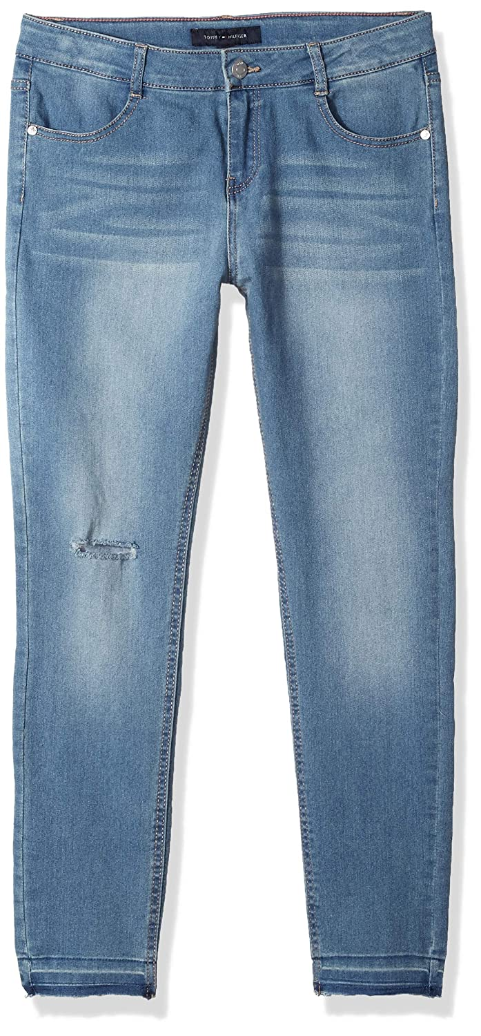 1c566c8485 Amazon.com  Tommy Hilfiger Big Girls  Stretch Denim Jeans  Clothing