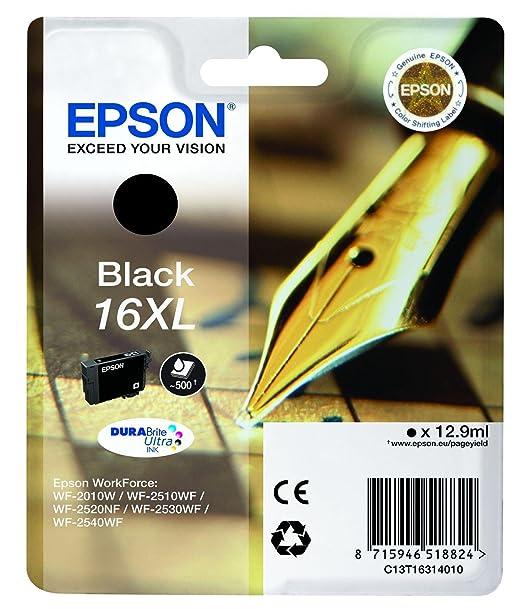 325 opinioni per Epson C13T16314012 Cartuccia Inkjet A.R., Nero