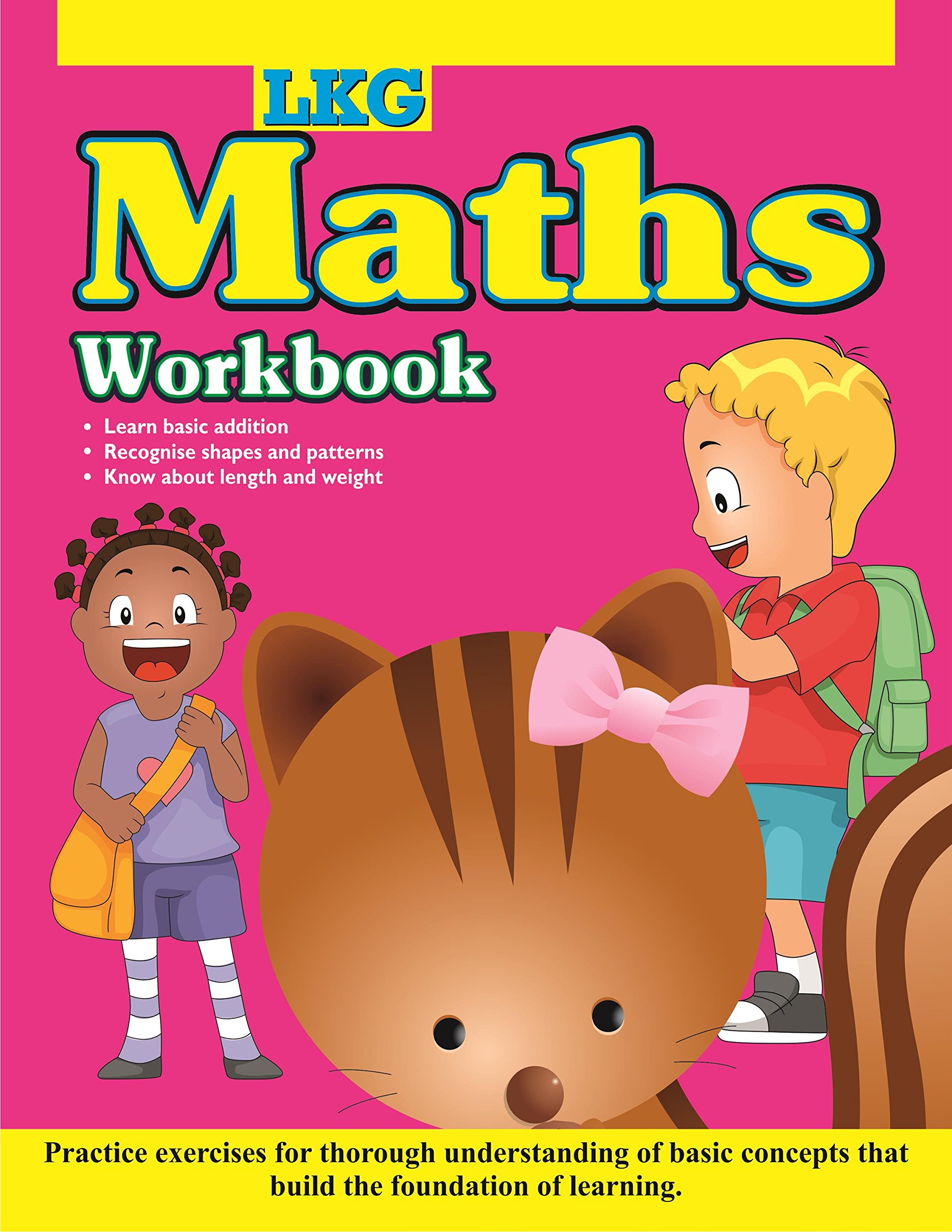 Buy LKG Maths Workbook (Early Skill Building) Book Online at Low ...