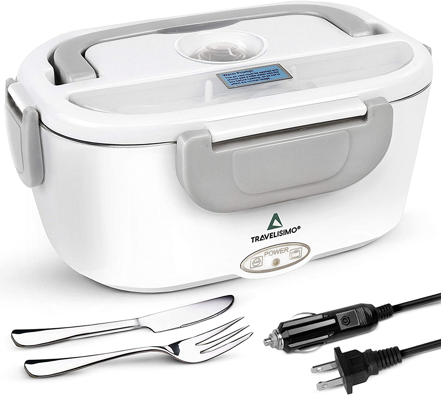 Travelisimo Car Electric Lunch Box 2 in 1