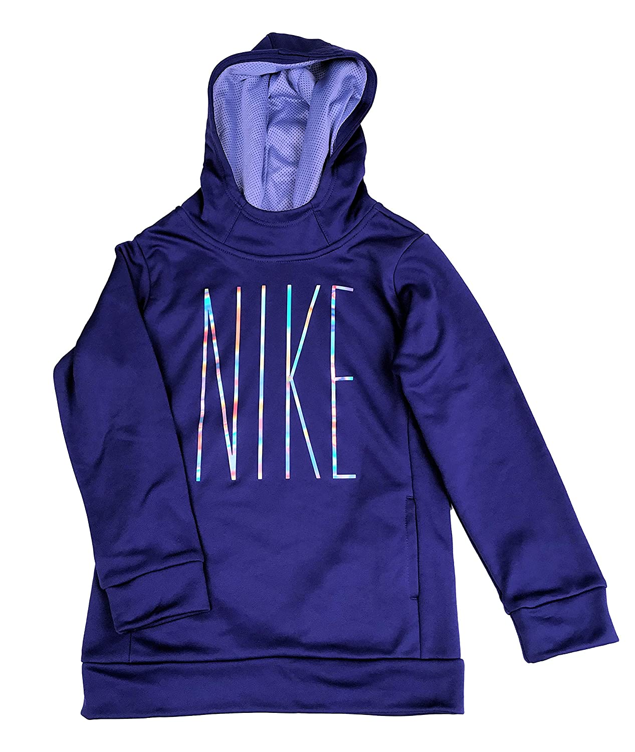 Nike Little Girls Be Dazzle Therma-Fit Hoodie Athletic Hoody Shirt