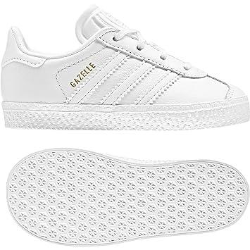 reputable site dc74f 7f427 adidas Gazelle I – Chaussures deportivaspara Enfants, Blanc –  (FtwblaFtwblaFtwbla