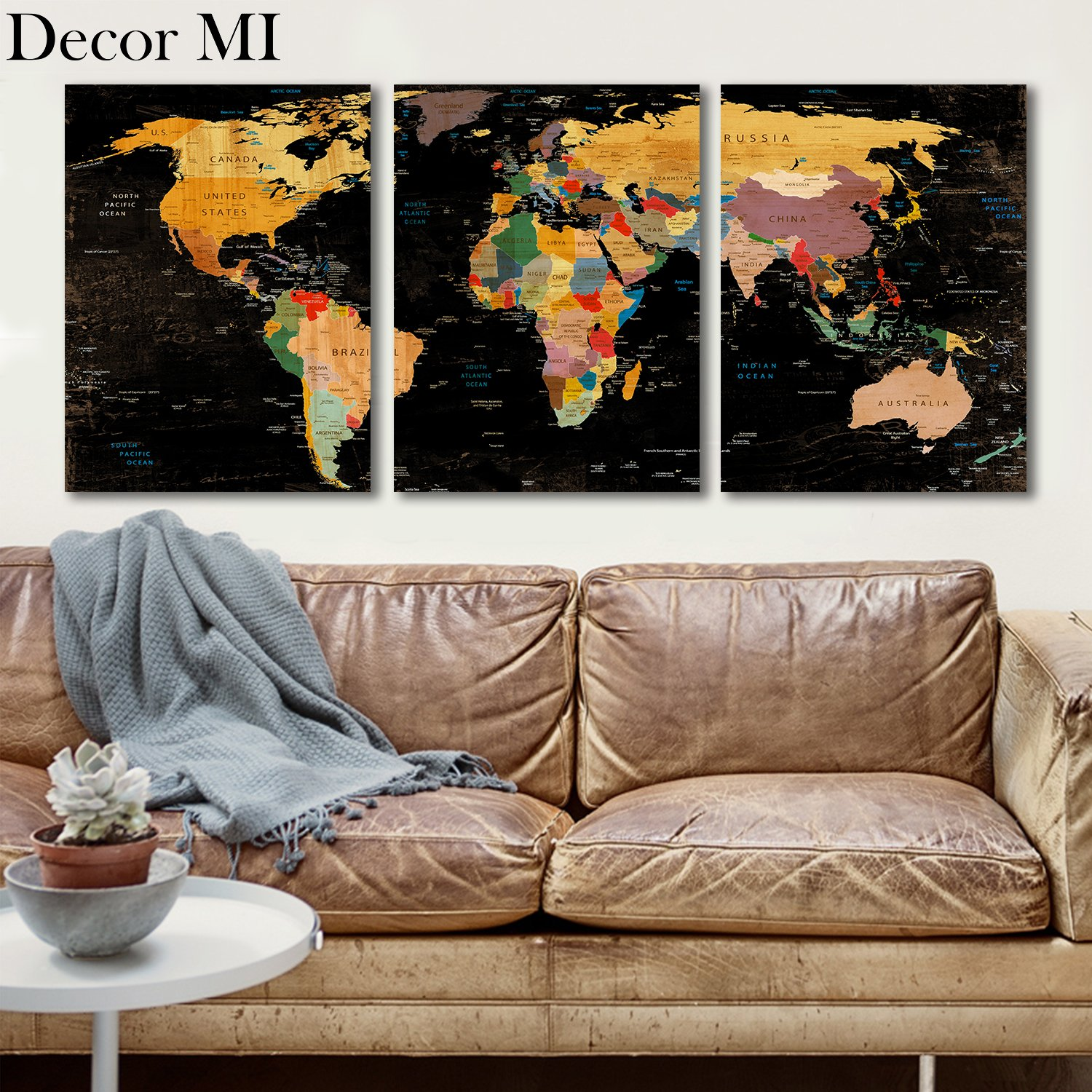 travelers for map decoration inspired oh deco decor world prints home photo ideas blog decorating