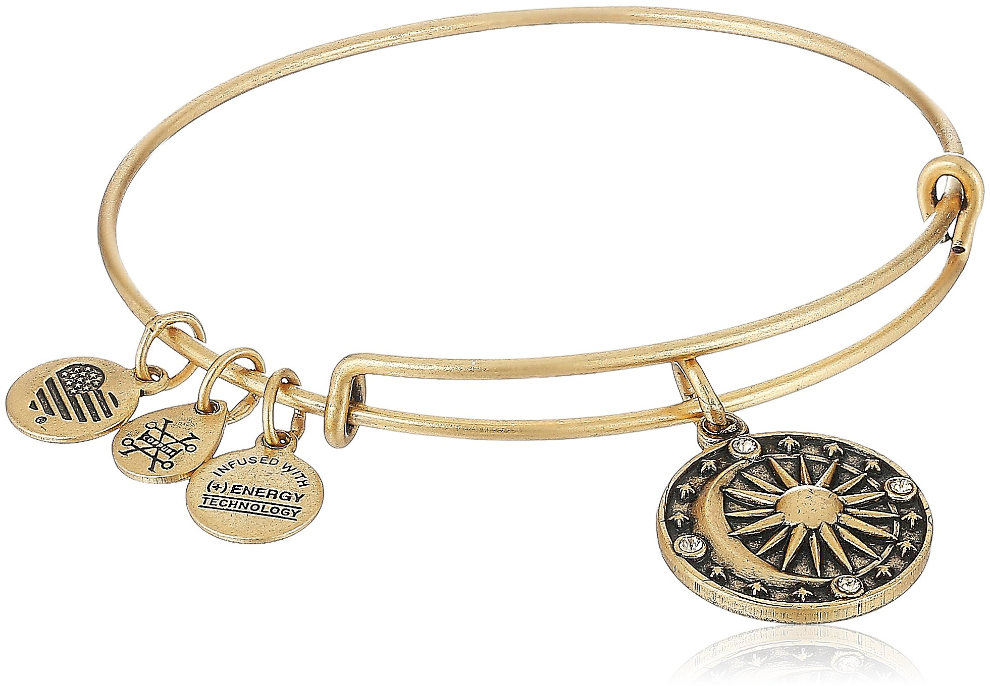 Alex and Ani Cosmic Balance II Bangle Bracelet, Rafealian Gold, Expandable