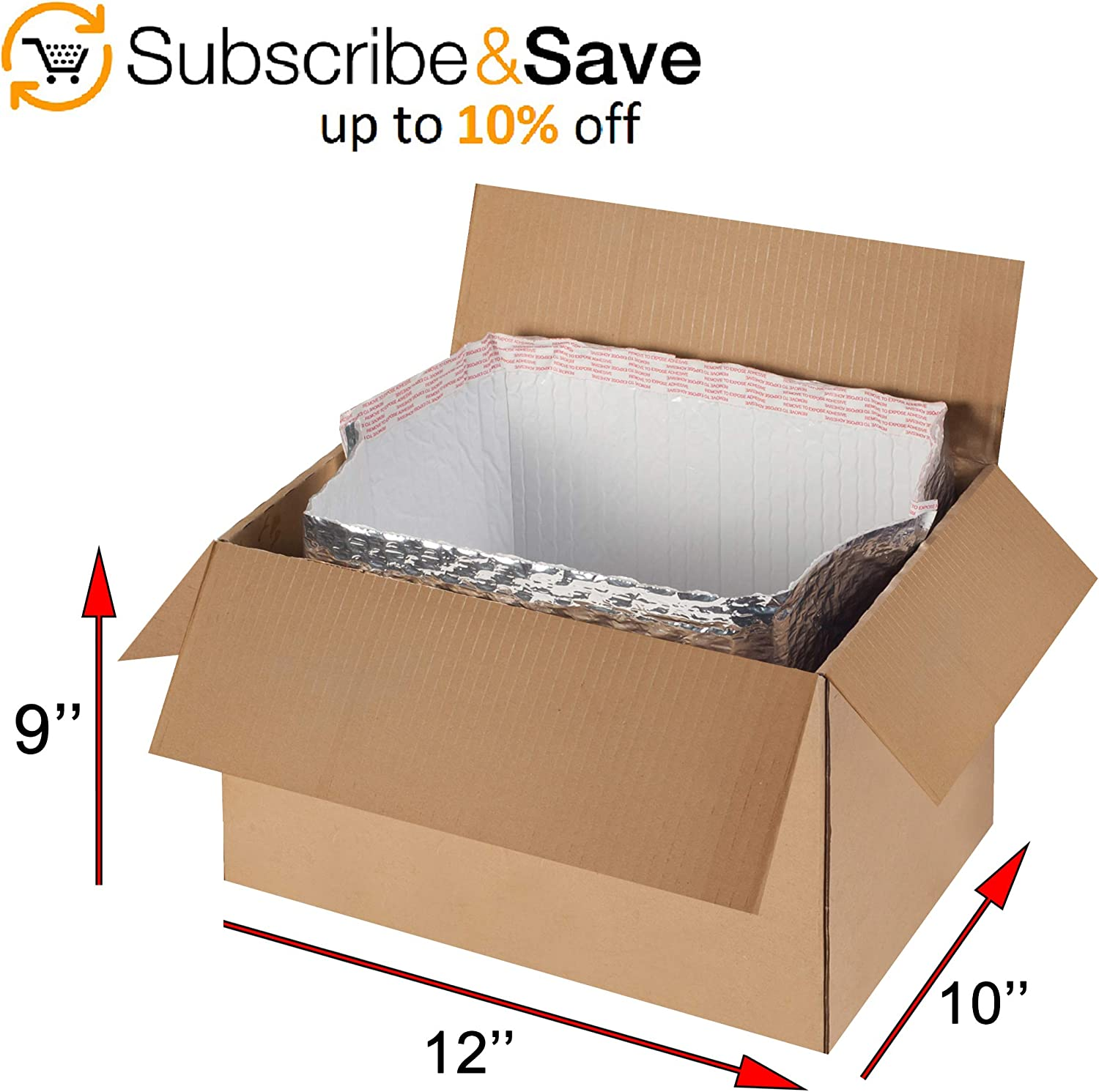 25 12x10x9 Corrugated Boxes Shipping Packing Moving Cardboard Cartons