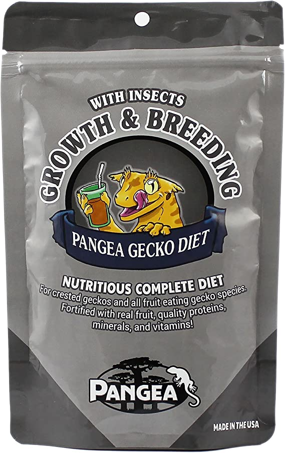 pangea fruit mix gecko diet with insects food