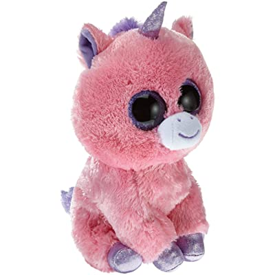 Ty Beanie Boos Magic Plush - Pink Unicorn, Medium: Toys & Games