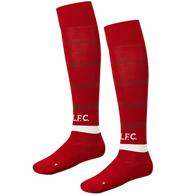 eca7b1b0297 Image Unavailable. Image not available for. Colour: Liverpool FC Home Kit  2018/2019 Red Mens Soccer Socks LFC Official Store