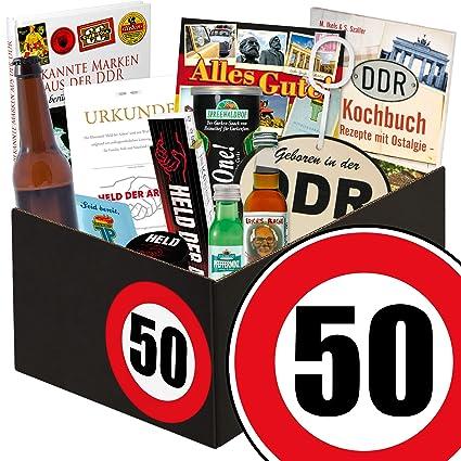 Geschenk Zum 50 Geschenk Für Mann Geburtstag Männer Geschenkbox