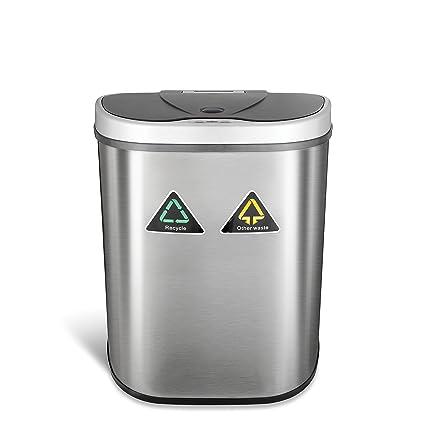 Sensible Eco Living Stainless Steel Trash Can With Motion Sensor Simplehuman Troubleshooting Eko