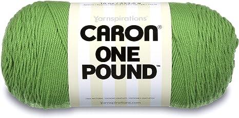 Yarnspiration Caron One Pound Grassy Meadow 812 Yards 4 Medium 100/% Acrylic