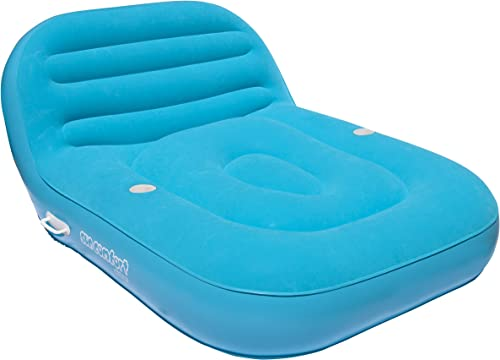 AIRHEAD AHSC-012 Sun Comfort Cool Suede Double Chaise Lounge