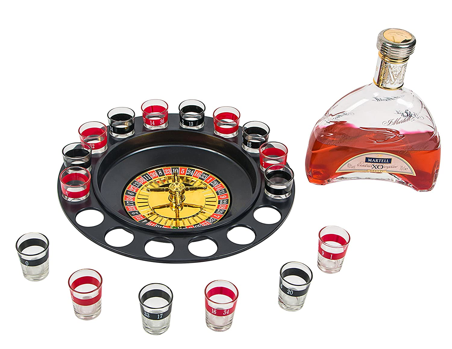 Accessories for alcohol: play roulette, cool with stones 9
