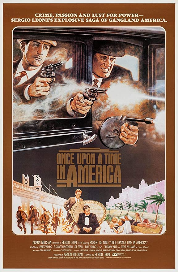 Once upon a time in America  movie poster print