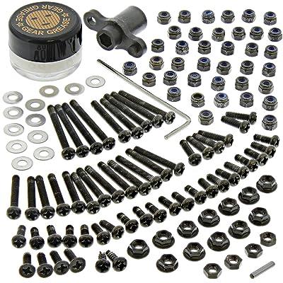 Gmade 1/10 Komodo Rock Crawler 120+ Piece Screw & Tool KIT Allen Box Grease: Toys & Games