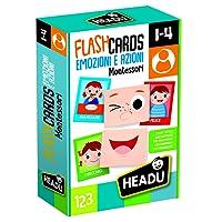Headu - Flashcards Montessori Emozioni e Azioni, IT20584