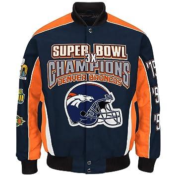 Amazon.com: Denver Broncos 3 Time super Bowl 50 Champions ...