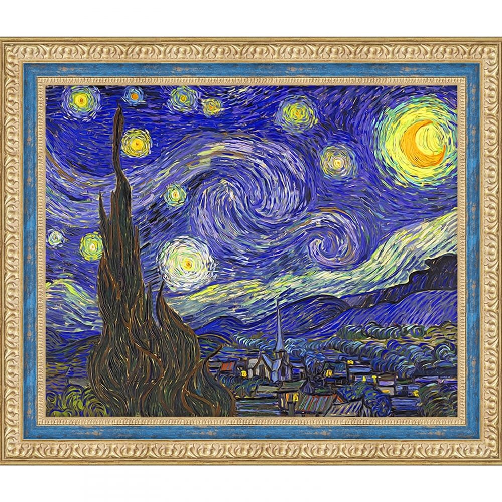 Artventura Starry Night (Van Gogh) Diamond Painting Kit