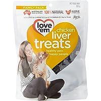 love'em Chicken Liver Treats 200g, 1 Pack