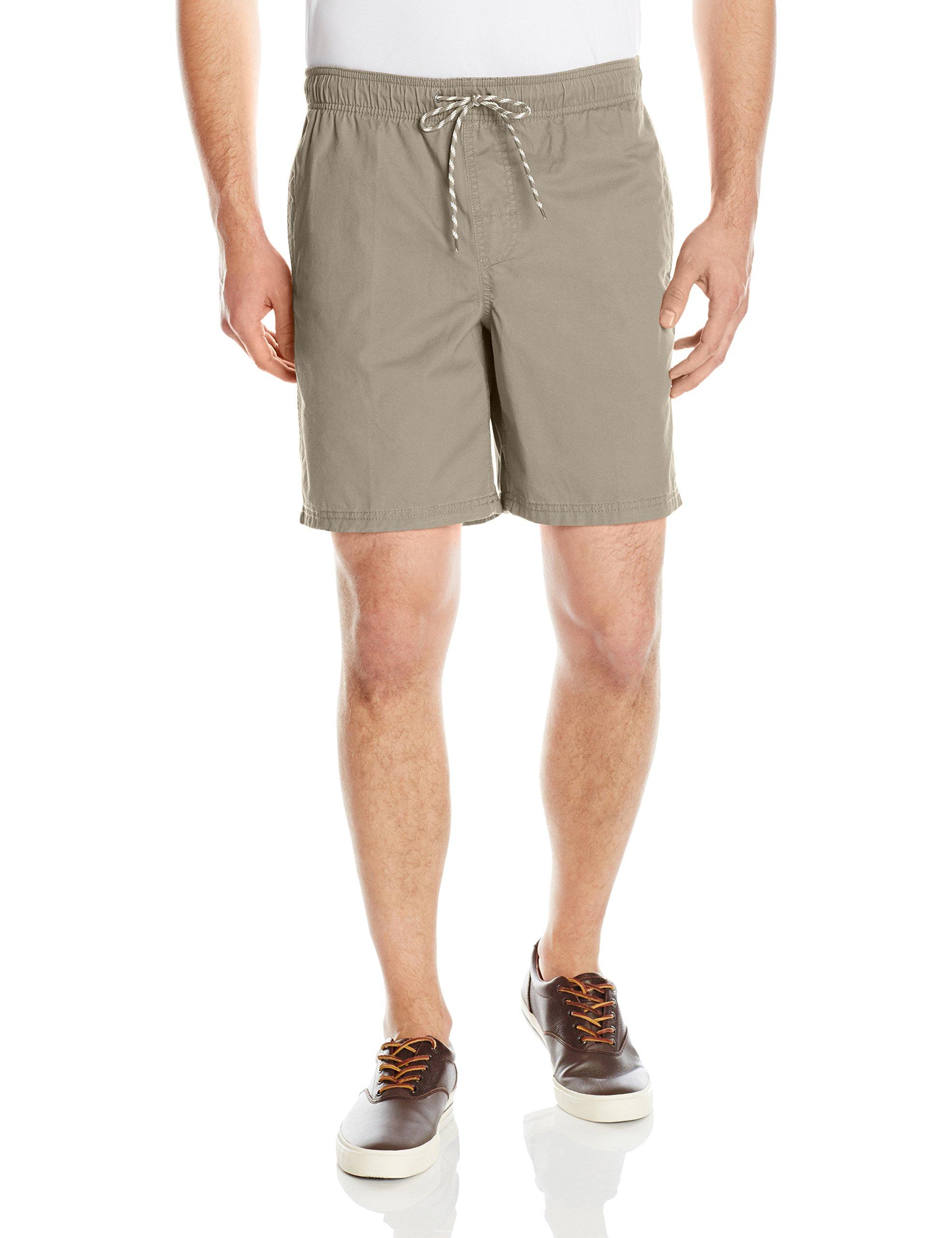 Amazon Essentials Men's Drawstring Walk Short, Khaki, Large by Amazon Essentials